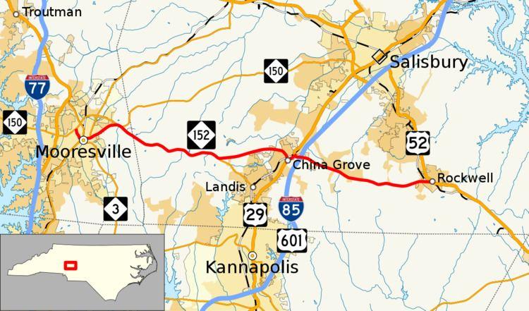North Carolina Highway 152