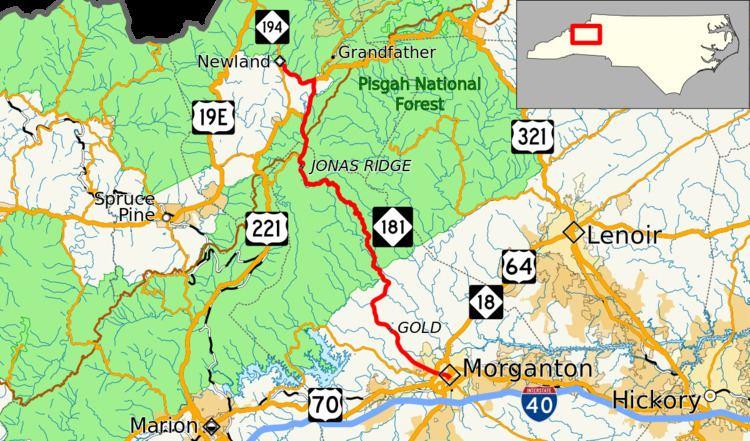 North Carolina Highway 181