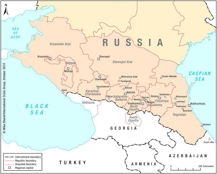 North Caucasus North Caucasus maps Eurasian Geopolitics