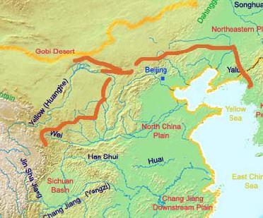 North China Plain Geography Ancient China