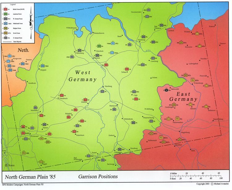 North German Plain Scenario Design Center Spotlights NB Campaign 1814
