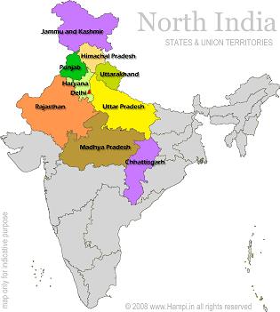 North India MERU TREKS AND TOURS North India