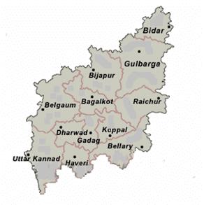North Karnataka wwwnkpostkarnicinmap1png