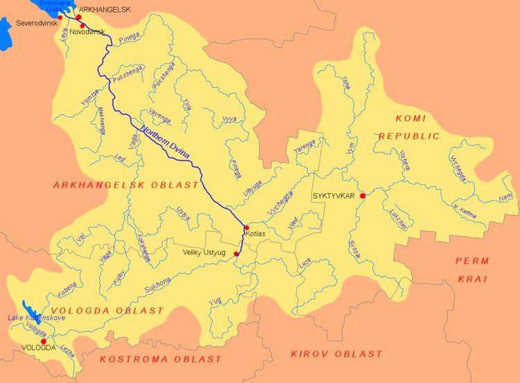 North Keltma River