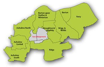 North Lincolnshire North Lincolnshire Council Electoral wards