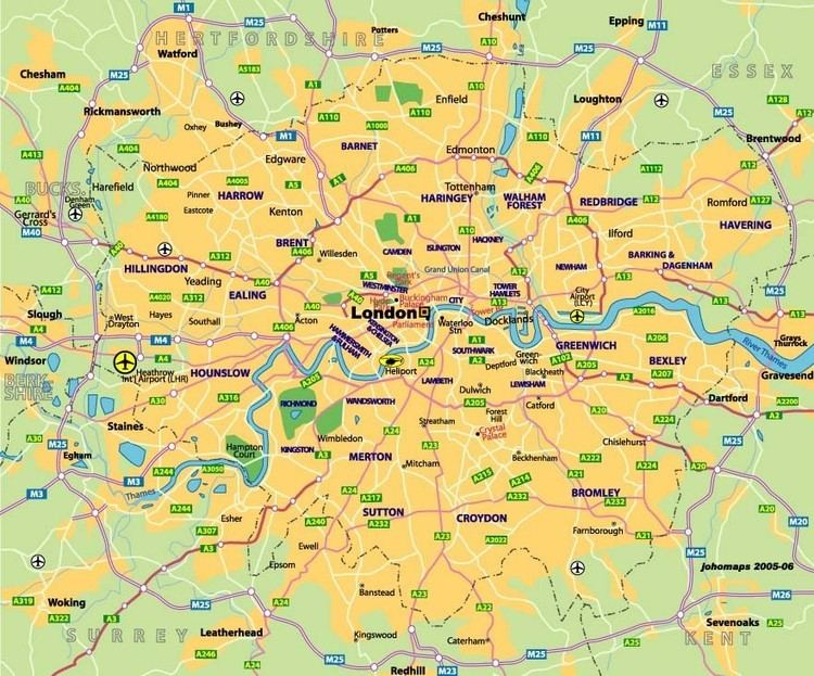 North London About London North London General