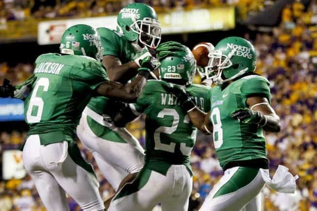 North Texas Mean Green football North Texas Updates Future NonConference Football Schedule Through 2025