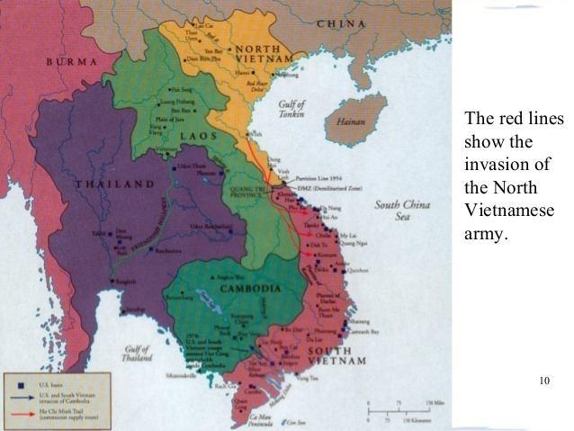 North Vietnam Vietnam war for Cambridge IGCSE History