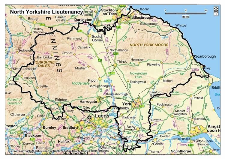 North Yorkshire North Yorkshire Lieutenancy Her Majestys LordLieutenant