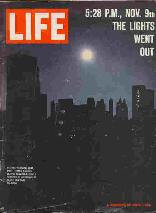 Image result for cause of the great northeast blackout of 1965