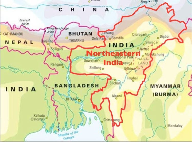 Northeast India Insurgency Sex and Tribalism in Northeastern India GeoCurrents
