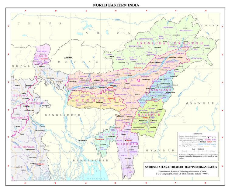Northeast India NE Region Ministry of Development of North Eastern Region North