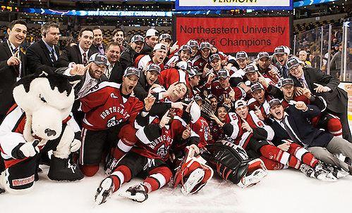 69970c3f3 Northeastern Huskies men s ice hockey AstonReese39s thirdperiod goal gives  Northeastern first Hockey East
