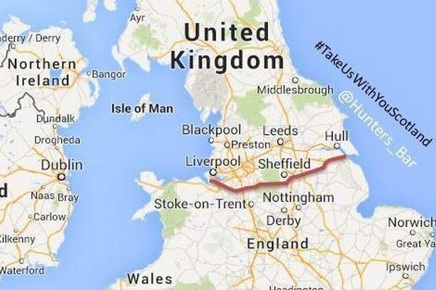 Northern England Online petition for northern England to join an independent Scotland