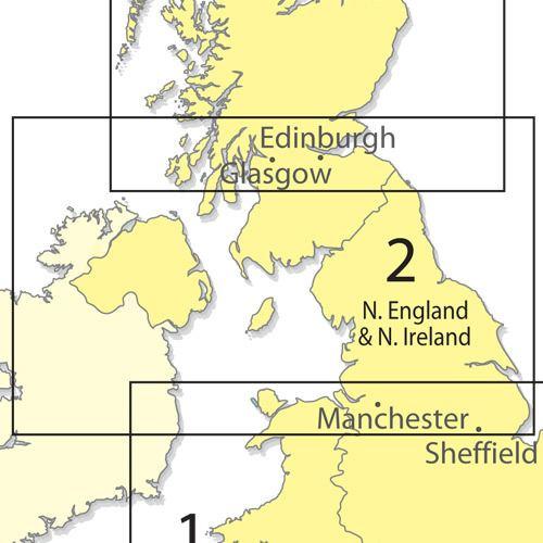 Northern England CAA Northern England amp Northern Ireland 1500000 ICAO Chart Ed 39