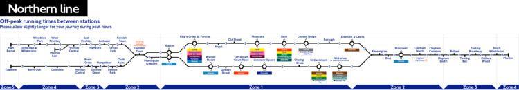 Northern line London Underground Northern Line station list amp map