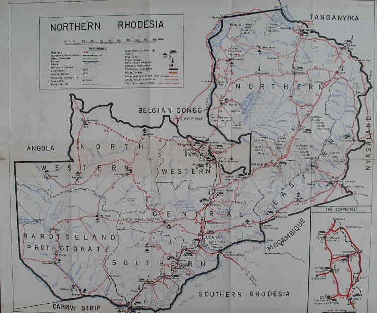 Northern Rhodesia of Northern Rhodesia