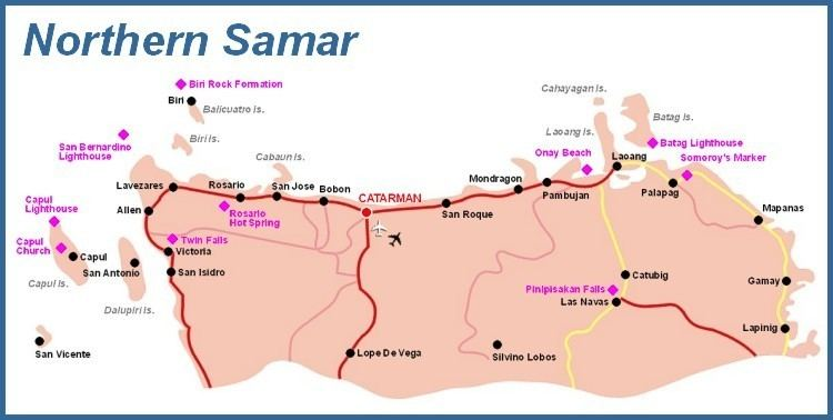 Northern Samar in the past, History of Northern Samar