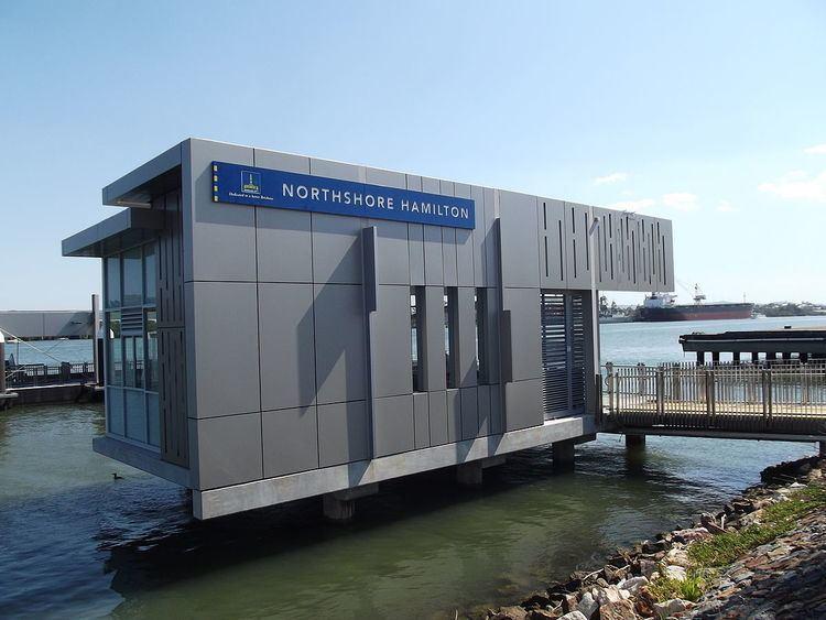 Northshore Hamilton ferry wharf
