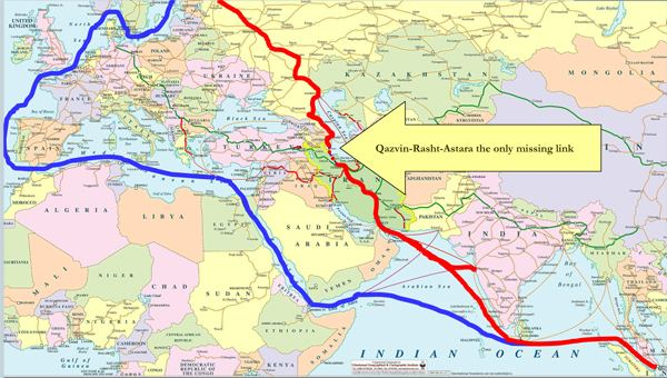 North–South Transport Corridor Central Asian countries accelerate the construction of the North