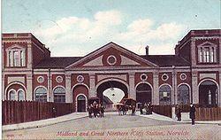 Norwich City railway station httpsuploadwikimediaorgwikipediacommonsthu