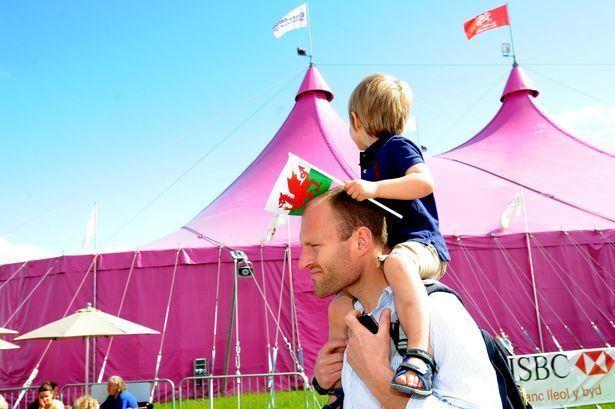 Noson Lawen (film) movie scenes The Eisteddfod Genedlaethol s iconic Pink Pavilion