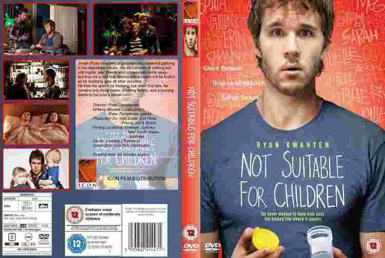 Not Suitable for Children COVERSBOXSK Not Suitable for Children high quality DVD