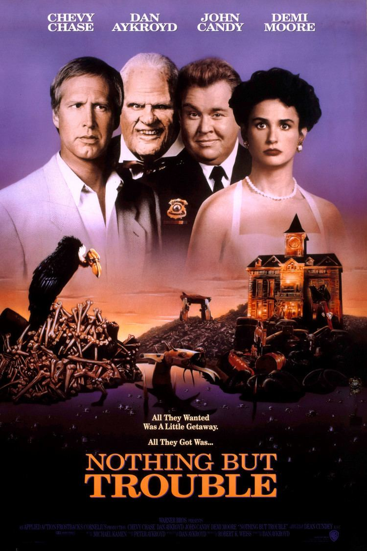 Nothing but Trouble (1991 film) wwwgstaticcomtvthumbmovieposters13050p13050