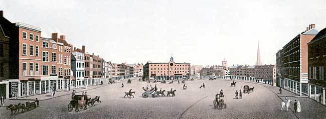 Nottingham in the past, History of Nottingham