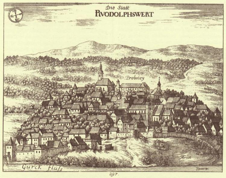 Novo Mesto in the past, History of Novo Mesto