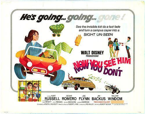 Now You See Him, Now You Don't Now You See Him Now You Dont 1972 Review Mana Pop
