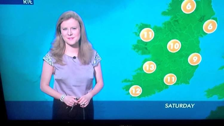 Nuala Carey Nuala Carey MetEireann thumbs up YouTube