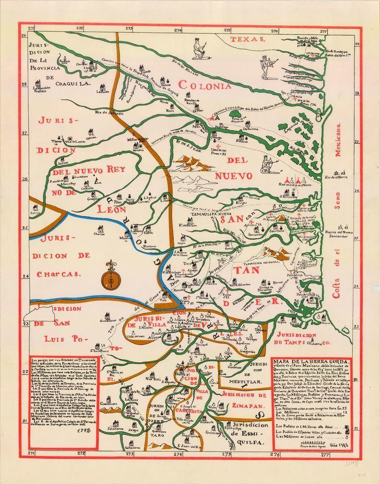 Nuevo Santander SPANISH TEXAS The Handbook of Texas Online Texas State Historical