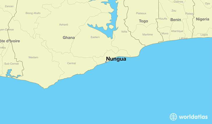Nungua Where is Nungua Ghana Where is Nungua Ghana Located in The