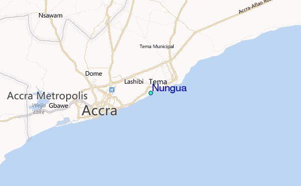 Nungua Nungua Tide Station Location Guide