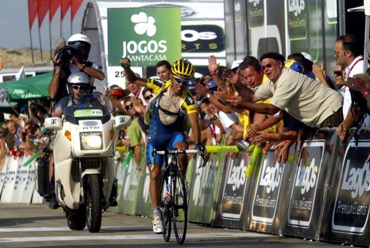 Nuno Ribeiro Nuno Ribeiro domina o alto da Estrela Web Ciclismo