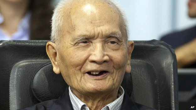 Nuon Chea Profile Khmer Rouge leaders Nuon Chea and Khieu Samphan