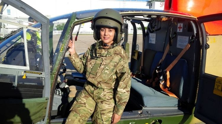 Nus Ghani Nus Ghani Soldiering on why I joined forces with the British Army