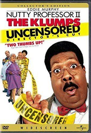 Nutty Professor II: The Klumps Amazoncom Nutty Professor II The Klumps Uncensored Directors