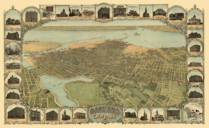 Oakland, California in the past, History of Oakland, California