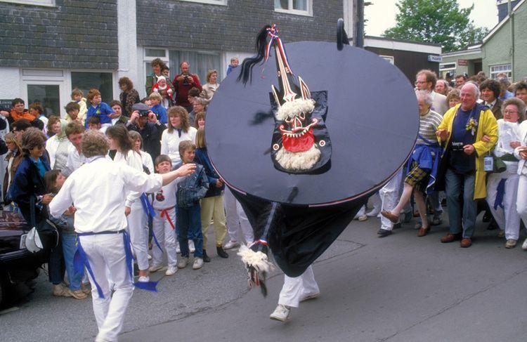 'Obby 'Oss festival A Flurry of Festivals Cornwall Living 2016