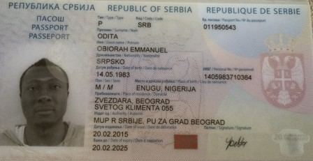 Obiora Odita Exclusive FK Vozdovac Striker Obiora Odita Gets Serbian Passport