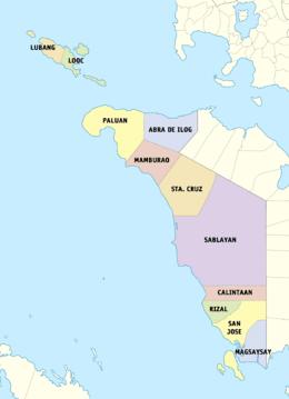 Occidental Mindoro Wikipedia