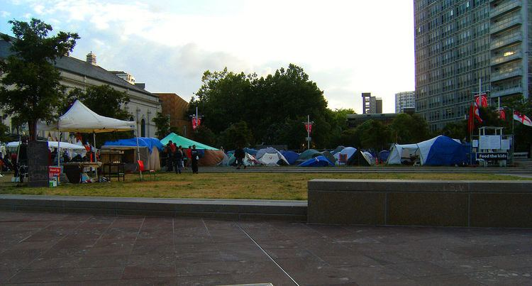 Occupy protests in New Zealand