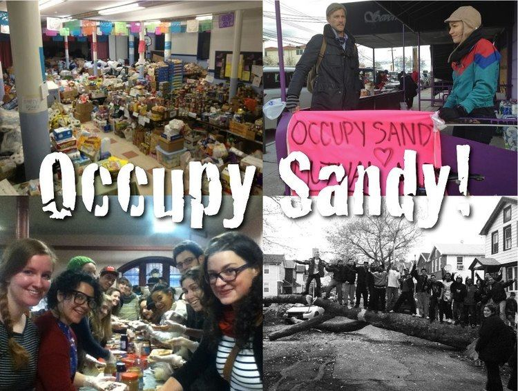 Occupy Sandy Occupy Sandy Their History and Ongoing Work PopularResistanceOrg