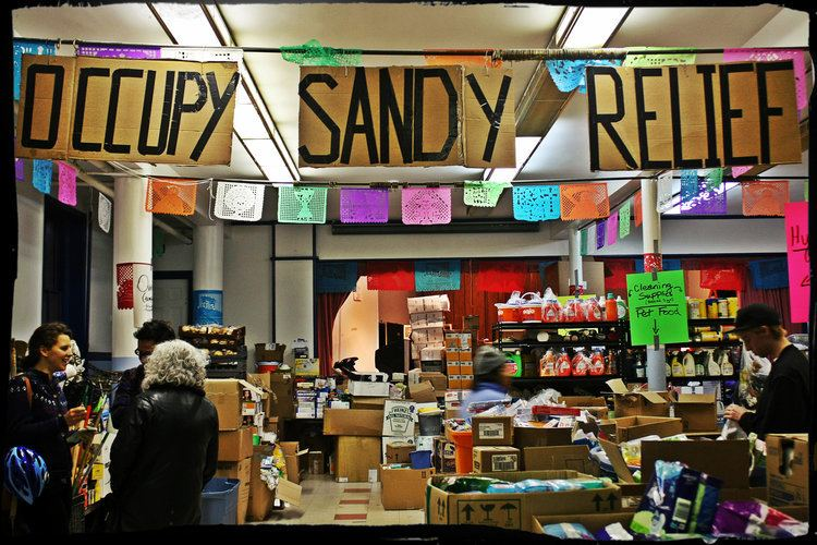 Occupy Sandy The State Occupy and Disaster What Radical Movement Builders Can