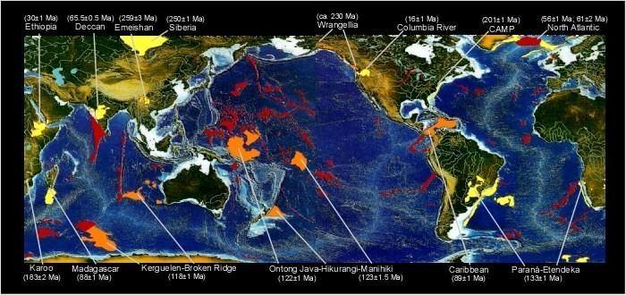 Oceanic plateau Wrangellia oceanic plateau