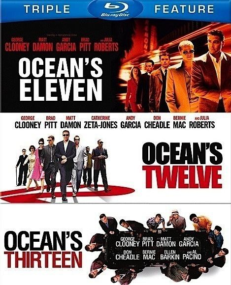 Ocean's Trilogy This Week on Bluray October 815