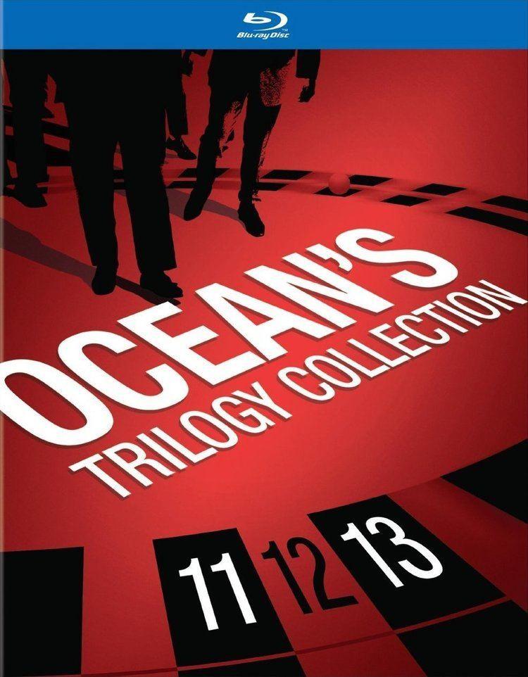 Ocean's Trilogy Oceans Trilogy Collection Bluray Oceans Eleven Oceans Twelve