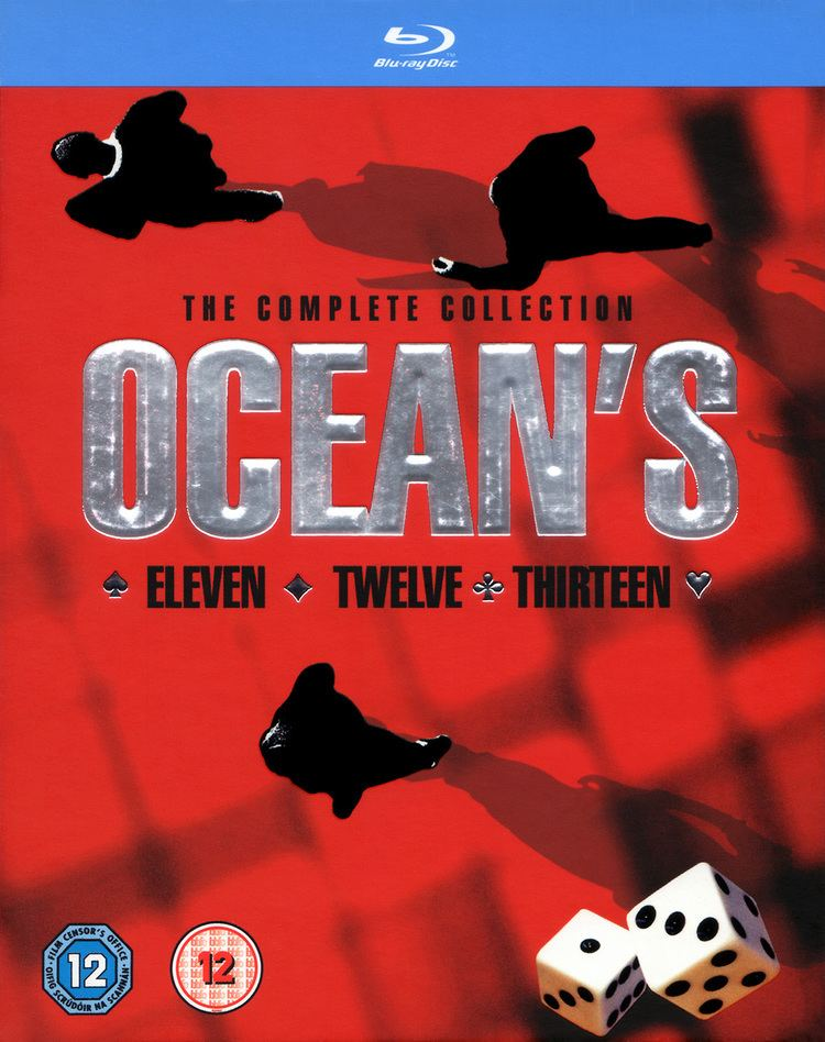 Ocean's Trilogy Oceans The Complete Collection Bluray Oceans Eleven Oceans